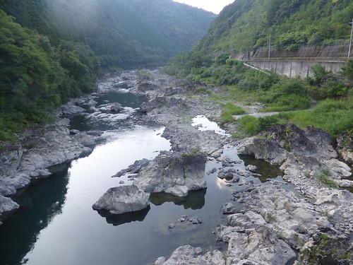 japan 日本 shikoku 四国 kouchiken 高知県 cycletouring 自転車ツーリング river rocks