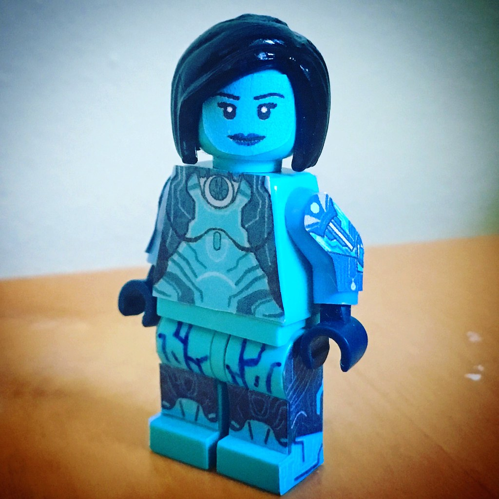 Minifig A Day 143 Cortana Halo 5 Timcan2904 Flickr