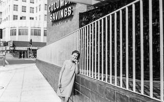 Penny on La Brea Avenue at Wilshire (1966)