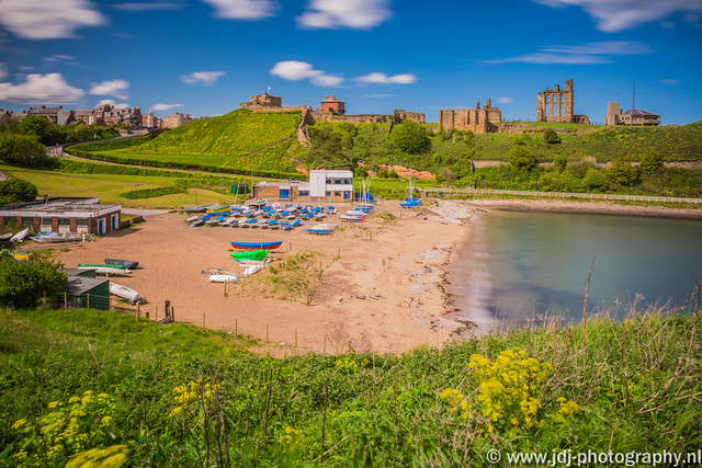 Tynemouth Castle beach