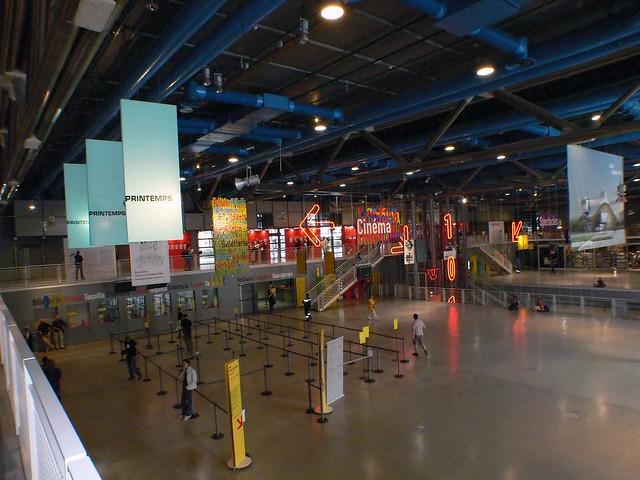 Inside Centre Pompidou