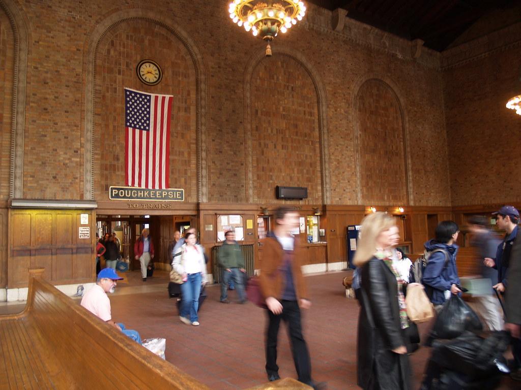 Exterior: Poughkeepsie, NY Train Station