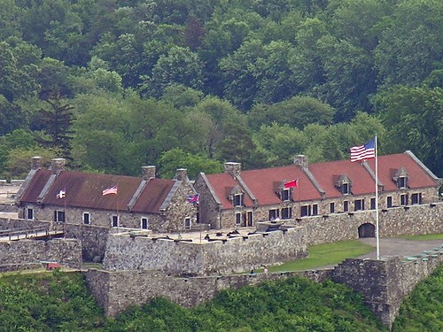 Digital Zoom of Fort Ticonderoga from the First Lookout of Mount Defiance | by Old Shoe Woman