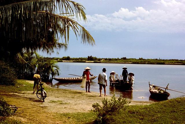 Beach Scene near Danang