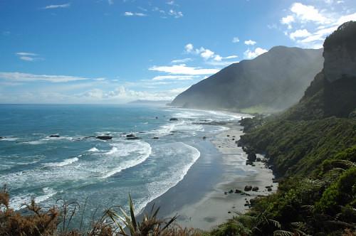 view of the Tasman Sea