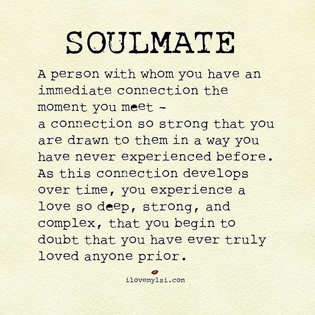 Soulmate Quotes Absolutely I Knew From The Moment I Met Flickr