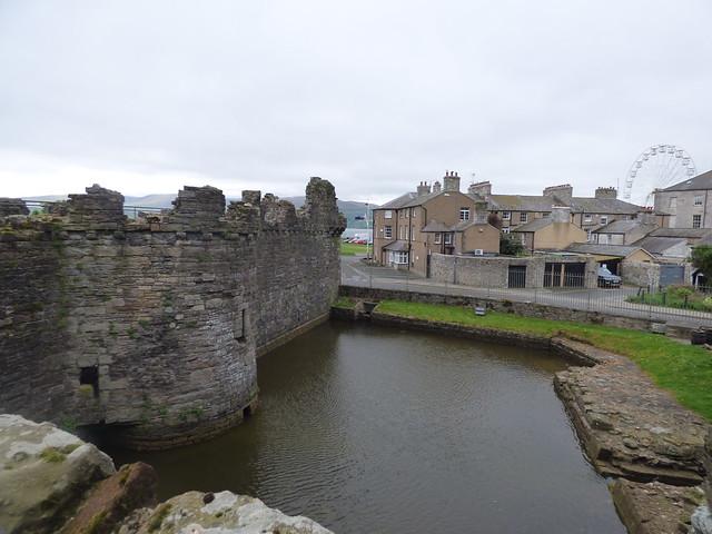 Beaumaris Castle - Gunners Walk - Castle Dock