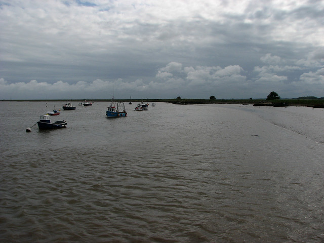 The River Ore, Orford