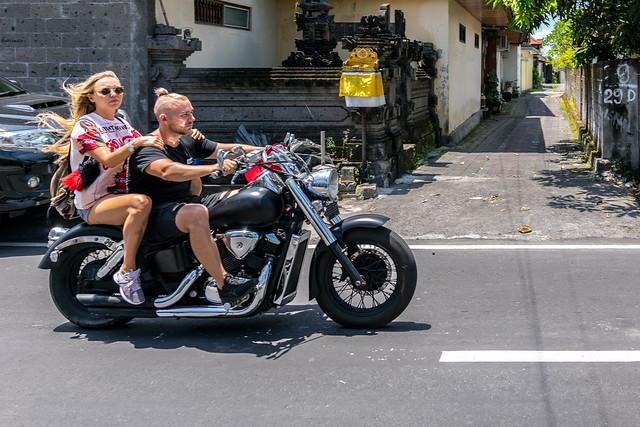 A Harley* in Bali