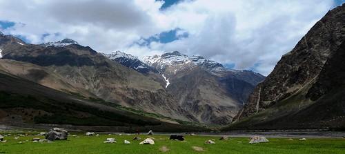 Glaciers Mountains - Kashmir - Western Himalayas ~3000m Altitude