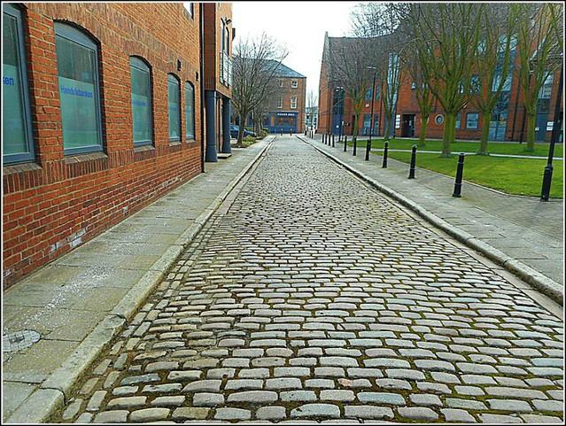 Old Cobblestone Street ..