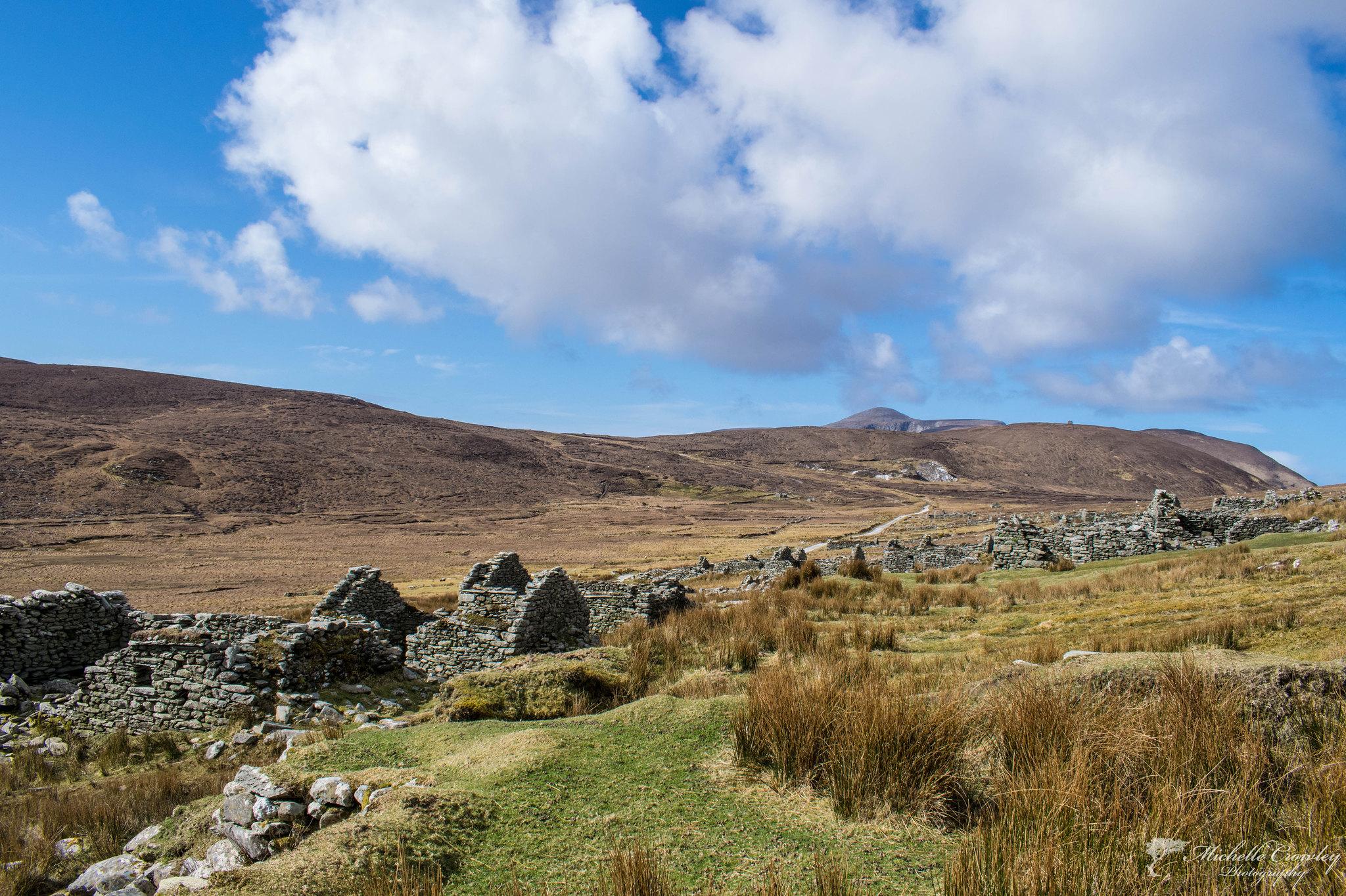 Deserted village, Achill Island, Mayo