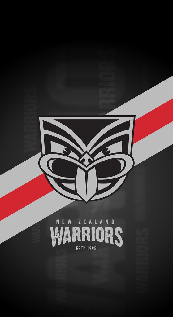 ... New Zealand Warriors iPhone X Lock Screen Wallpaper | by Rob Masefield (masey.co