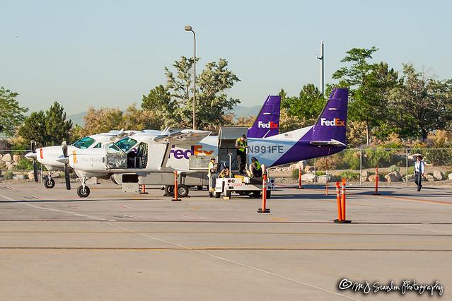 N991FE FedEx Feeder   Cessna 208B Super Cargomaster   Salt Lake City International Airport