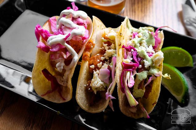 Carnitas, Fish, and Brisket Tacos - Coughlin Law