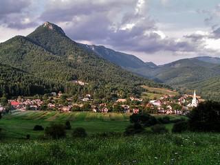 Cigánka mountain (935 m) in Muranska planina National Park, Slovakia