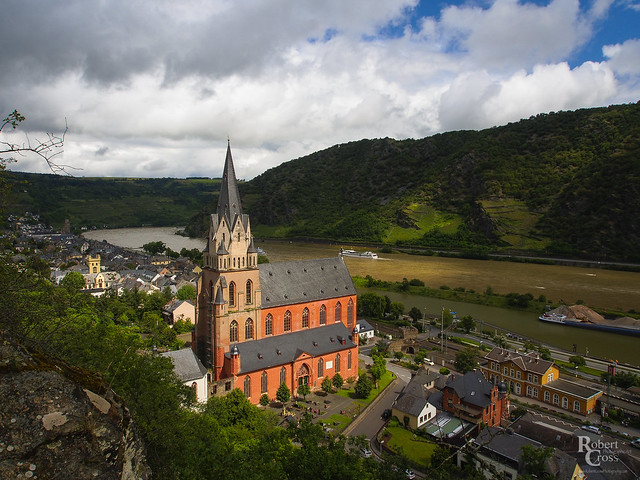 Oberwesel on the Mittelrhein