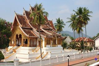 Haw Pha Bang, Luang Prabang, Laos   by Fedor Odegov