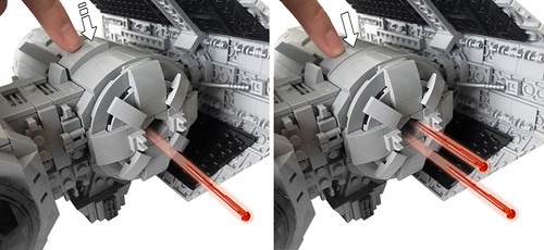 LEGO TIE-Bomber shooter mechanism | by marvelousRoland
