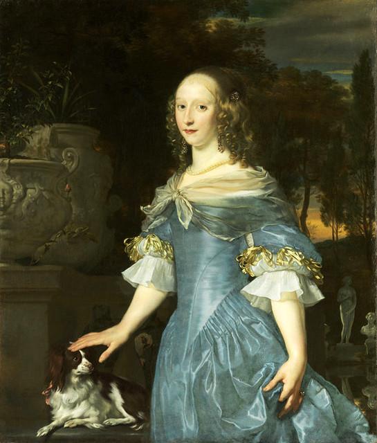 Abraham van den Tempel, Bildnis einer jungen Frau - Portrait of a young lady