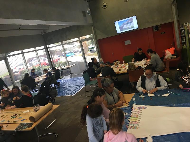 Matariki art and crafts underway