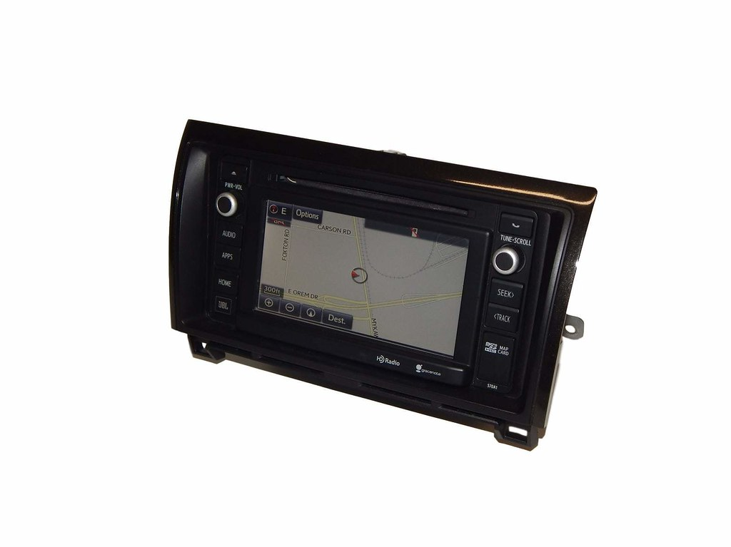 2014 15 Toyota Tacoma Sequoia JBL Navigation Radio Display