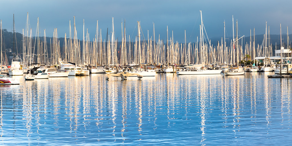 Reflections at Newport Marina
