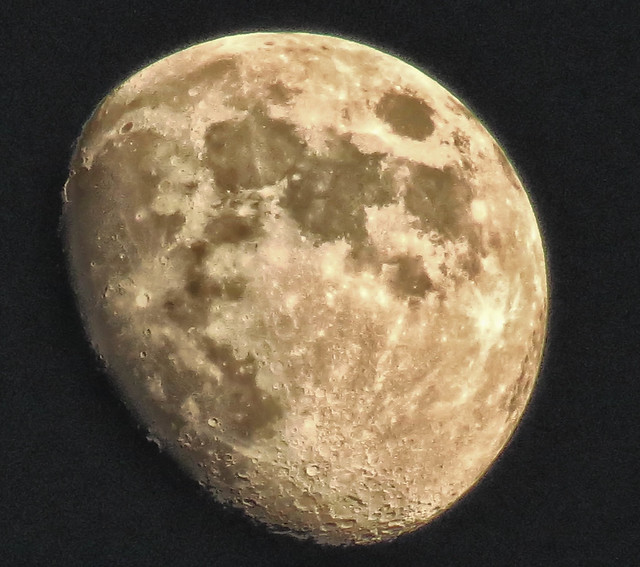 moon over Portland, 9:30 p.m.  Explored!!