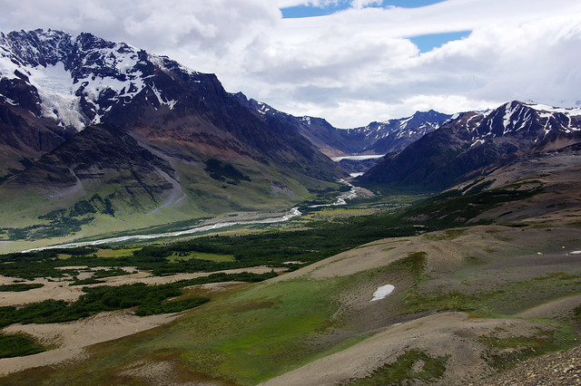 Day 7: View of Río Túnel valley