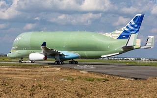 First Airbus Beluga XL F-WBXL | by French_Painter