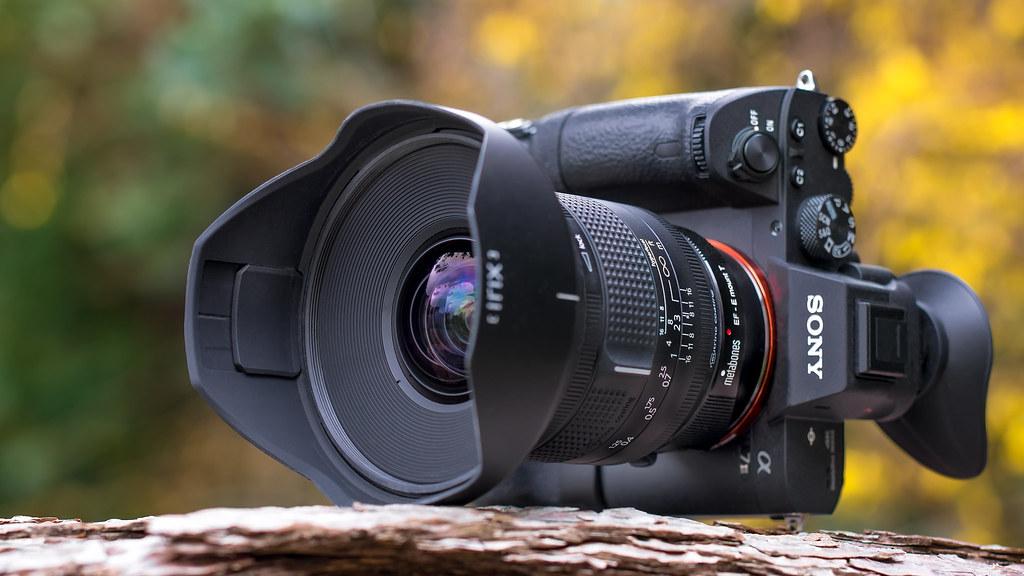 SONY a7III with IrIX Firefly 15mm ƒ/2 4 rectalinear ultra