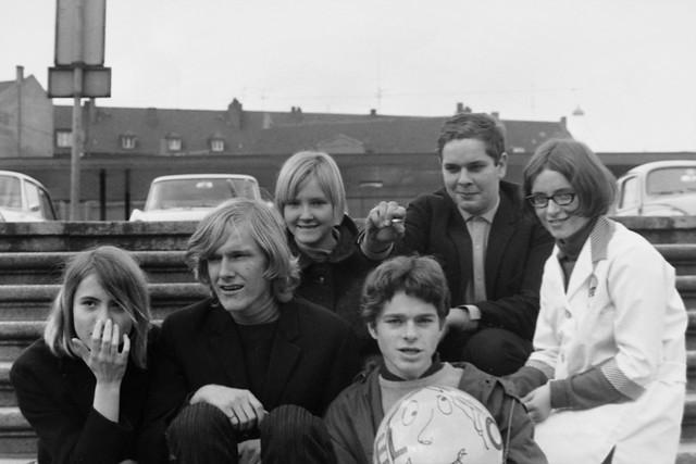 Archiv BotJu30 Jugendlicher Müßiggang in Bottrop, 1967