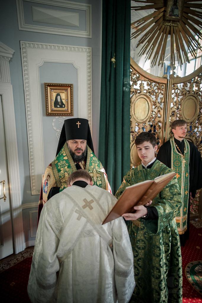 31 марта 2018, Всенощное бдение накануне Вербного воскресенья / 31 марта 2018, Vigil on the eve of the Palm Sunday