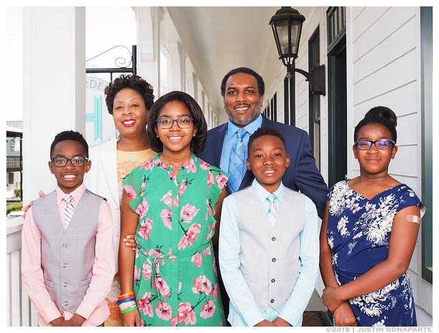 Easter 2018 Family Photo