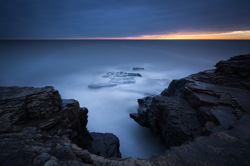 lee longexposure sunrise waterfall leegraduatedfilter dawn leebigstopper seascape whitburn canonef1635mmf4lisusm canon5dmkiii rocks