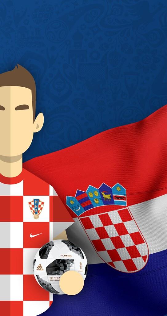 Team Croatia Football World Cup 2018 Iphone 678 Wallpa
