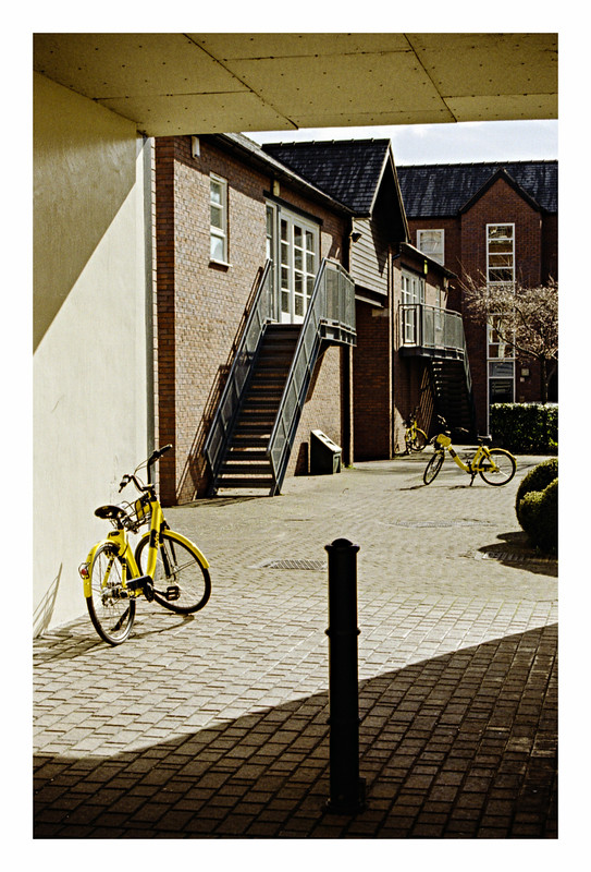 FILM - Three yellow bicycles