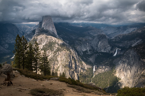 Storm Clouds Over Yosemite | by kenfagerdotcom