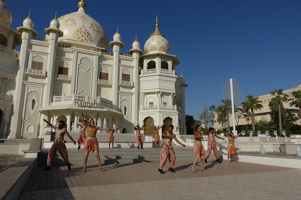 Bollywood Parks Dubai   Stars on Steps at Royal Plaza   Flickr