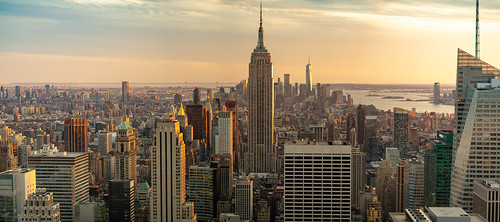 Panorama from the Top of the Rock New York City | by nan palmero