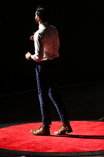 Faiz Saulat @ TEDxUGA 2018: Connect | by New Media Institute