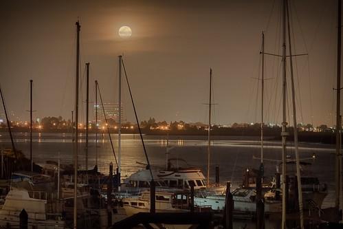 california alameda bayfarmisland easter full moon