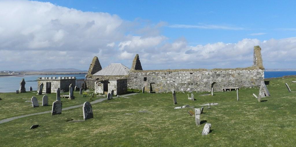 Eaglais na h-Aoidhe(Church of the eye), Aignish, Isle of Lewis, April 2018