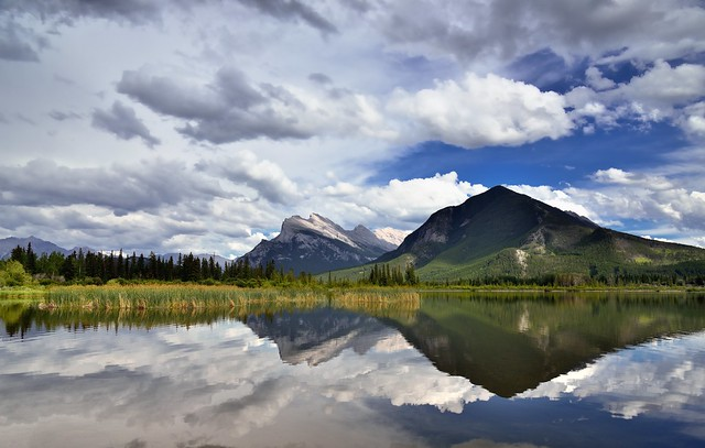 I Stood Before Mount Rundle (Banff National Park)