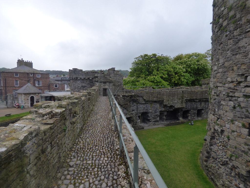 Beaumaris Castle - Outer Wall walk - South-West Tower