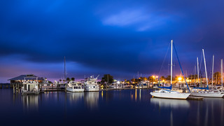 Blue hour at the marina | by Ed Rosack