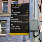 Legible Sydney wayfinding signage