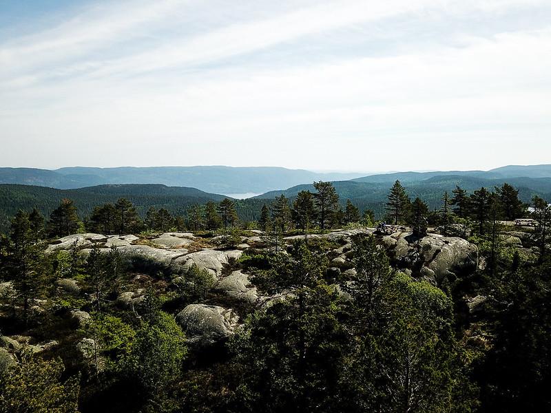 18-Utsikt sørover fra Nesfjell