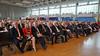 Festveranstaltung in der Donauhalle - die Ehrengäste