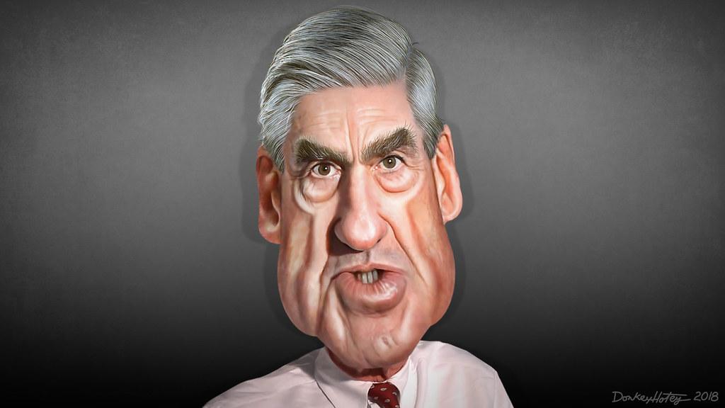 Robert Mueller - Caricature